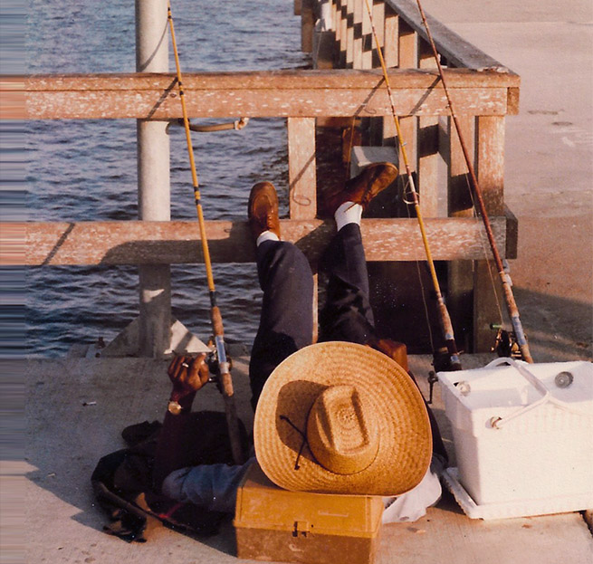 St. Simons Pier Fishing