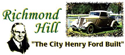WELCOME TO HISTORIC RICHMOND HILL, GA