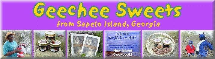 GEECHEE SWEETS FROM SAPELO ISLAND, GEORGIA